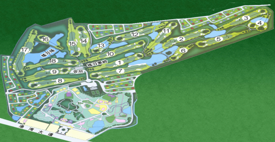 广东-珠海高尔夫俱乐部球场介绍