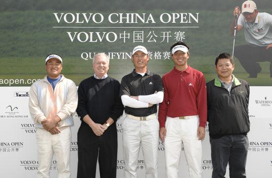吴阿顺第一次通过资格赛获沃尔沃中国公开赛资格