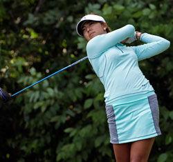 金斯米尔锦标赛20岁艾莉森领先阎菁第五封悦晋级