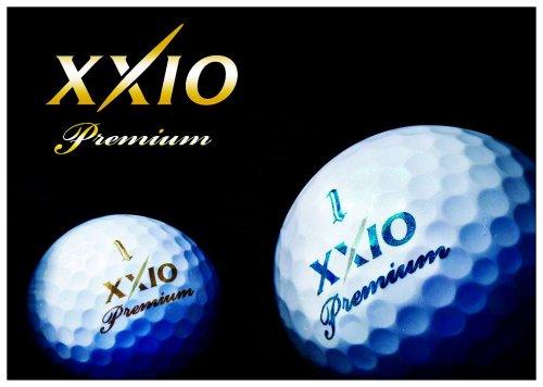 XXIO PREMIUM 高尔夫球 高亮度颜料更显高贵