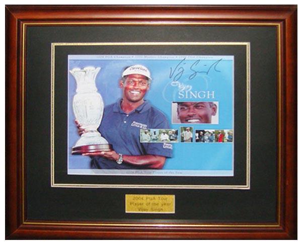 维杰,辛格2004年美巡赛最佳球员