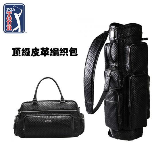 PGA TOUR 顶级皮革编织包 诠释品位和气质