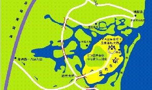 博鳌亚洲论坛国际会议中心球会位置图示