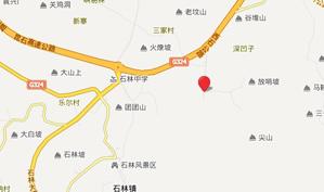 云南石林国际乡村俱乐部位置图示