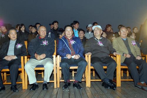 图文-俱乐部联赛总决赛欢迎晚宴与会老领导