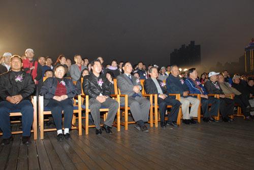 图文-俱乐部联赛总决赛欢迎晚宴现场领导就座