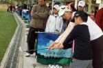图文-业余公开赛青少年活动日冯珊珊指导小球员