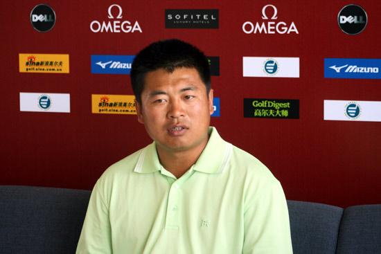 图文-上海锦标赛次轮樊志鹏第二轮66杆