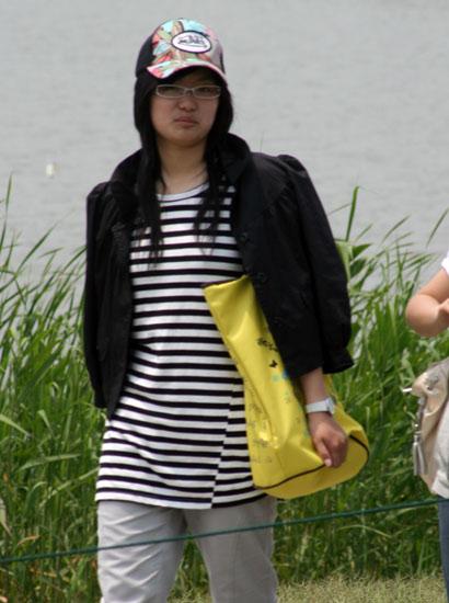 图文-上海锦标赛决赛花絮美女武装下场