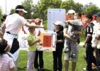 图文-天一五月系列赛爱心志愿者捐款