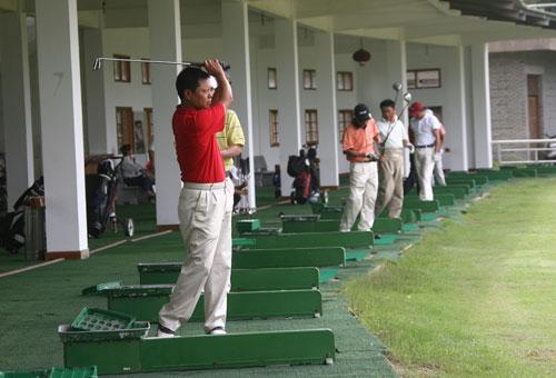 图文-俱乐部联赛中南分区赛第二轮练习场