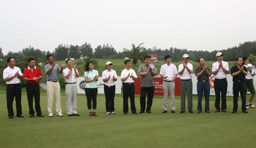 图文-俱乐部联赛中南分区赛颁奖颁奖嘉宾及领导