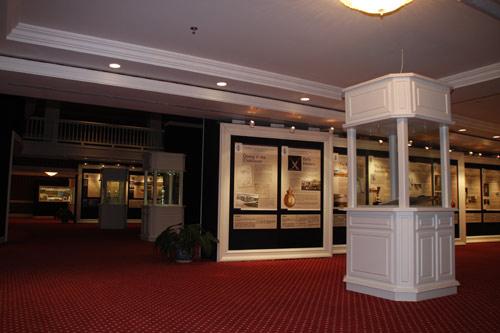 图文-圣安德鲁斯高尔夫文化展博物馆陈列一角