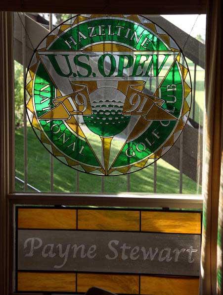 图文-哈泽汀国家俱乐部1991美国公开赛窗花纪念