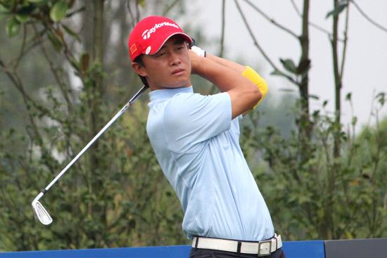 图文-中巡麓山锦标赛第二轮国家队队员黄文义