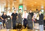 图文-奥迪quattro杯世界总决赛中国球员抵达赛地