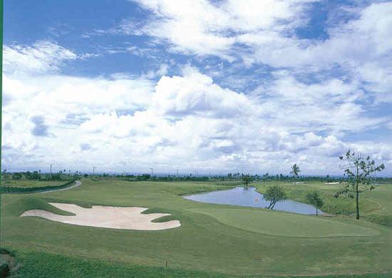 图文-菲律宾鹰脊球场青木功球场18号洞