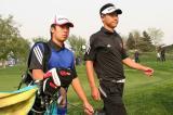 图文-VOLVO中国公开赛次轮国家队选手搭档