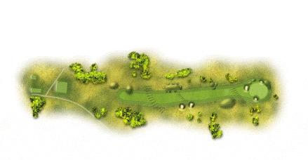 图文-英国公开赛球道攻略图14号洞448码帕四