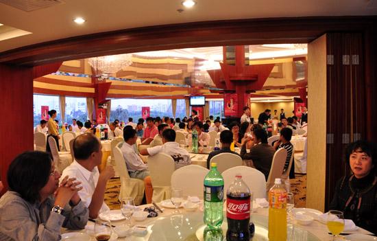 图文-张连伟杯青少年赛欢迎晚宴晚宴现场