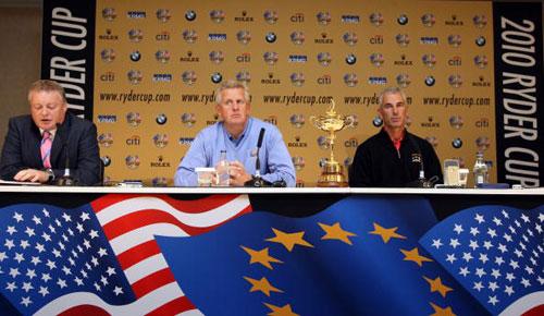 图文-2010莱德杯新闻发布会新闻发布会现场