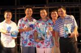 """图文-""""国信杯""""高尔夫球赛趣味奖项得主们"""