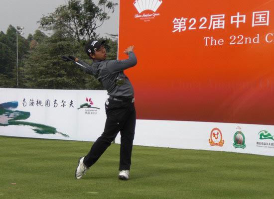图文-09中国业余公开是男子前三轮韩国小将