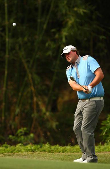 图文-高尔夫世界杯第三轮加拿大安德森短铁出击