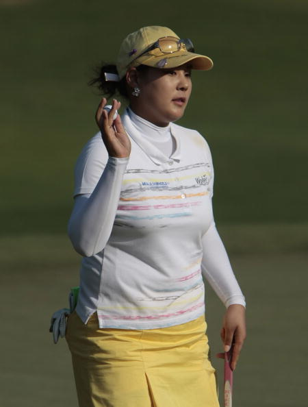 图文-贝尔LPGA精英赛首轮李智英打66杆