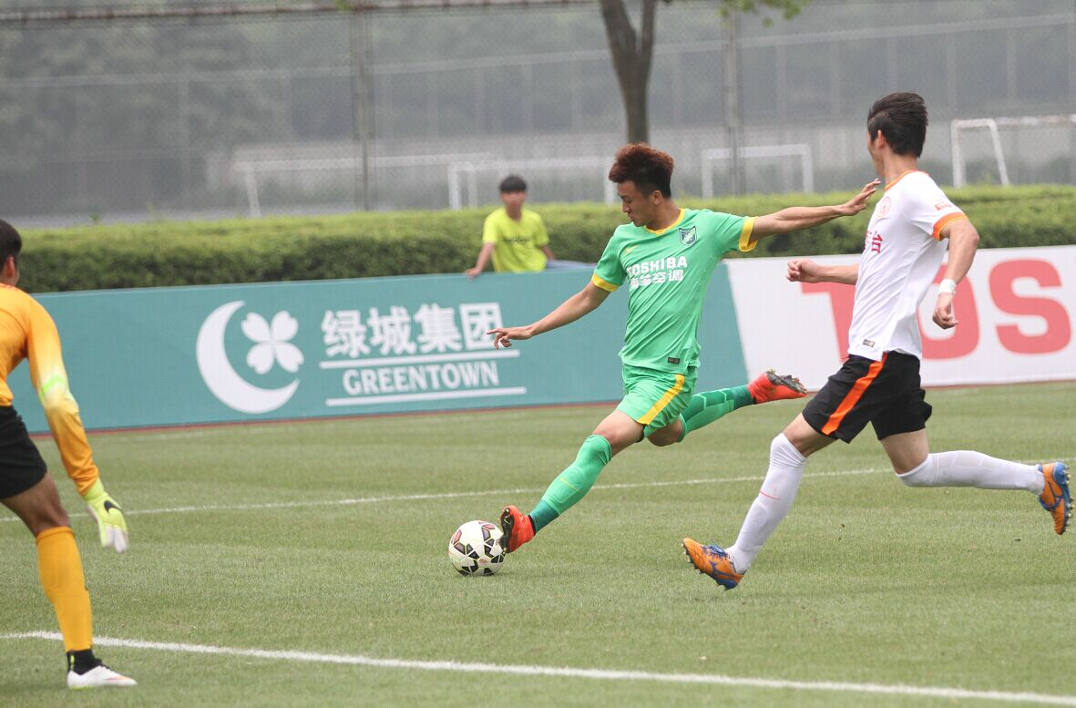 预备队联赛 杭州绿城VS贵州茅台(3)