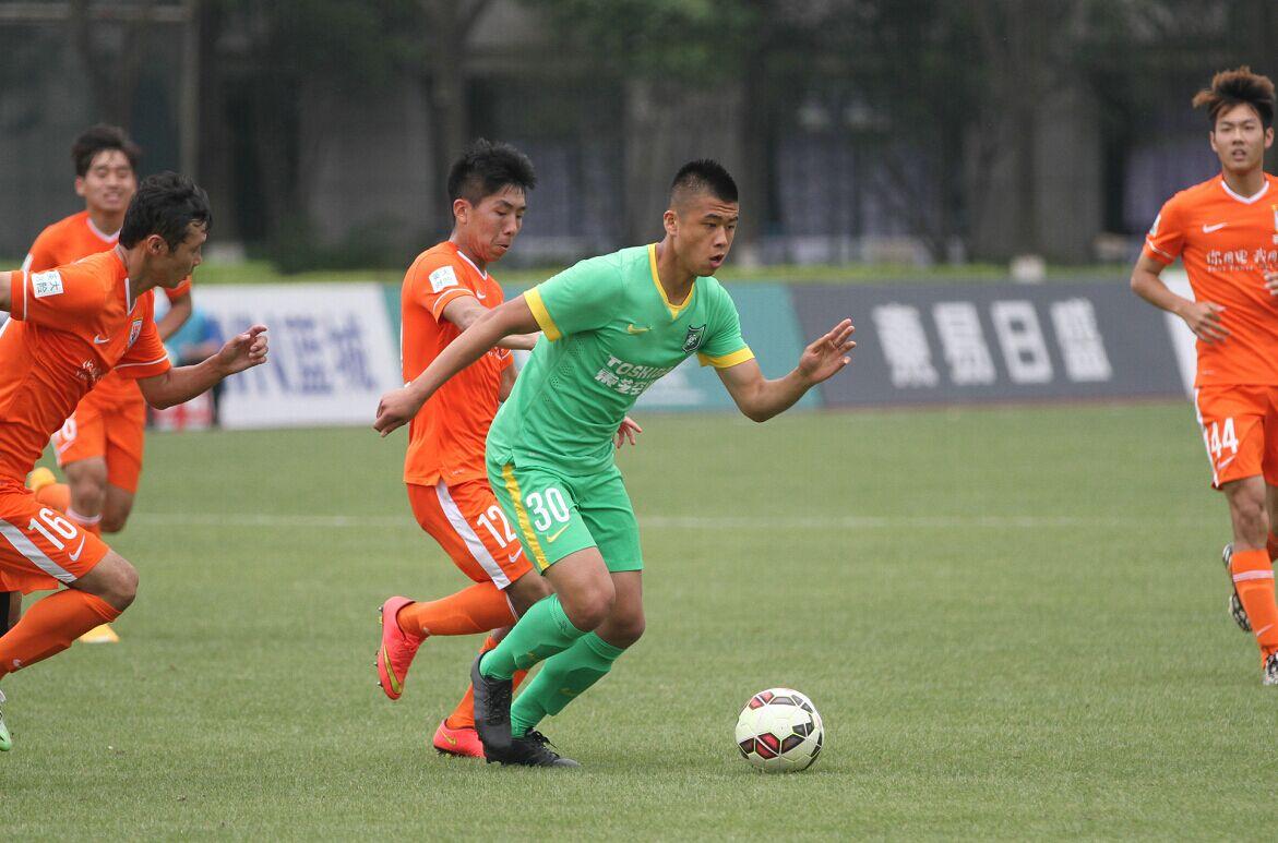 预备队联赛 杭州绿城VS山东鲁能(2)