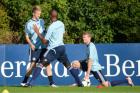 德国队训练备战世预赛