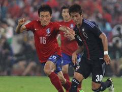日本2-1韩国夺东亚杯