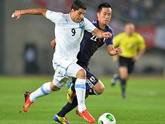 视频集锦-弗兰梅开二度 乌拉圭客场4-2胜日本