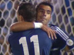 进球视频-阿根廷流畅三角配合 马克西扫射扳平