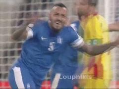视频集锦-世预赛附加赛首回合 希腊3-1罗马尼亚