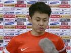 视频-刘健:最后时刻丢球很可惜 球队受流感影响