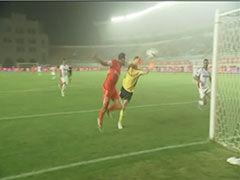 进球视频-乔尔机敏头球破门 回归中超首秀即进球