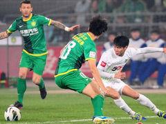 视频录播-中超第28轮:北京国安VS杭州绿城上半场