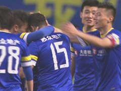 视频集锦-于大宝助攻巴哈破门 大连1-0杭州