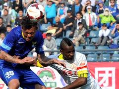 视频集锦-尤里破门于汉超点球扳平 阿尔滨1-1贵州