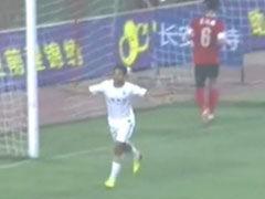 进球视频-申鑫中路犀利反击 查尔顿单刀推射破门