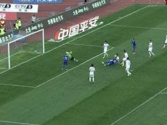 进球视频-孙国文打门门将脱手 陈涛补射扳平比分