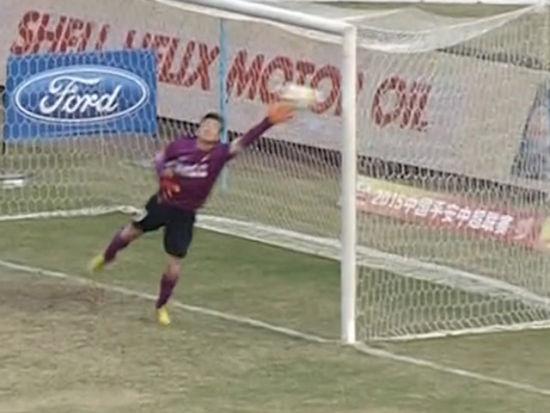 进球视频-李昂任意球弯刀出鞘 绕过人墙直挂死角