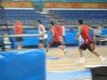 视频-男篮低调备战亚运会 训练状态出色引球迷围观
