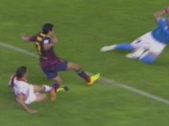 进球视频-哈维策动小法横传 佩德罗铲射梅开二度