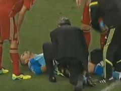 视频-巴尔德斯负伤被迫退赛 斗牛士雪上加霜