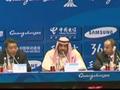 视频-亚组委召开通报会 萨巴赫亲王盛赞广州亚运