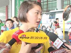 焦刘洋抵京接受采访