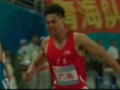 视频-男子田径百米接力 广东队优势明显问鼎冠军